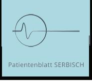 patientenblatt-serbisch